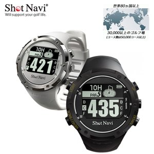 ショットナビ W1-GL GPS ナビ Shot Navi ゴルフ ライト LITE G-727 海外対応 GPSウォッチ メーカー取寄せ|noblegolf
