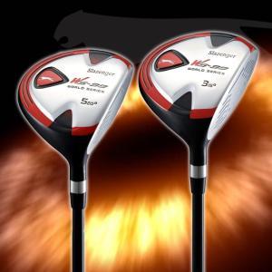 ゴルフ フェアウェイウッド ゴルフクラブ 単品(#3,#5) フレックスR カーボン  スラセンジャー WS99 noblegolf