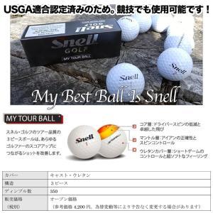ゴルフ ゴルフボール ボール スネルゴルフ snell golf USGA公認1ダース12個入り スネルボール 即納可能 【10P04Feb17】|noblegolf|02