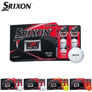 スリクソン Z-STAR XV ZスターXV ゴルフボール ボール ダンロップ 2019 1ダース ...