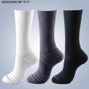 イオンスポーツ ゼロフィット ミドルソックス  ZEROFIT ミッドカット 送料無料 ハイソックス ゴルフ スポーツ ソックス 靴下 着圧 アーチサポート 土踏まず noblegolf