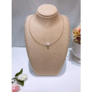 アコヤパール オメガネックレス K18G K18WG ゴールド ホワイトゴールド 2way 本真珠 贈り物 プレゼント|noblesse-oblige1