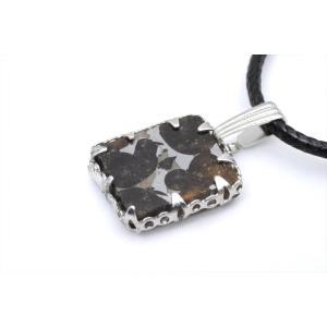 セリコ隕石 1.8g ペンダント PT 石鉄隕石 パラサイト ケニア Sericho 62