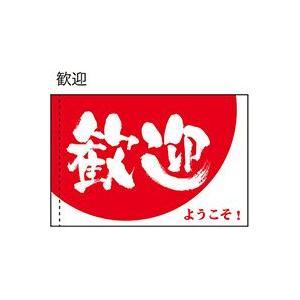 歓迎 ようこそ! 手旗 No.19472(受注生産)|noboristore
