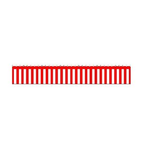 紅白幕(綿) 700mm×3間(5400mm) No.1951|noboristore