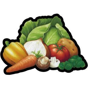 デコレーションパネル 野菜各種 No.23636 (受注生産) noboristore
