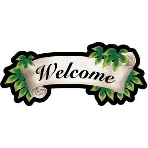 デコレーションパネル リボン Welcome No.23638 (受注生産) noboristore