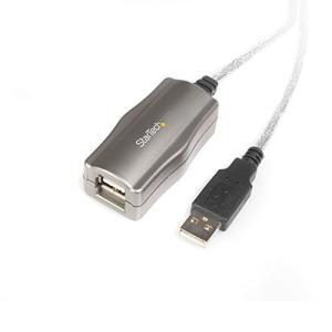 StarTech.com USB 2.0準拠リピータケーブル 4.5m USB A (メス)-USB A (オス) 延長ケーブル USB2FAAEXT|nobuaki-shop