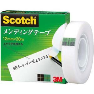 3M メンディングテープ 12mmX30m 巻芯径25mm 810-1-12 (12MMX30M) nobuaki-shop