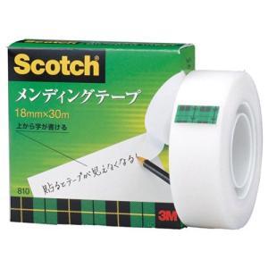3M スコッチ テープ メンディングテープ 18mm×30m 小巻 810-1-18 nobuaki-shop