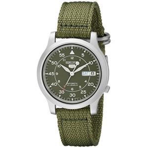 [セイコー] SEIKO 5 腕時計 自動巻き 海外モデル ミリタリー カーキ グリーン SNK805K2 メンズ [逆輸入品]|nobuaki-shop