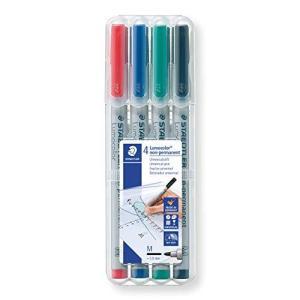 ステッドラー 水性ペン ルモカラー 細書き 4色 315 WP4 nobuaki-shop