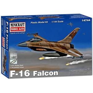 ミニクラフト 1/144 アメリカ空軍 F-16A ファイティングファルコン (フレーム塗装済キャノピー付属) プラモデル MC14744|nobuaki-shop