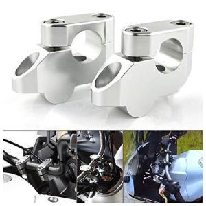 オートバイハンドルバー ライザー ハンドルポストφ22mm/22.2mm、に適合するCB1000R/CBF600/CB1000/CB1300/CB50|nobuaki-shop