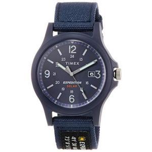 [TIMEX] 腕時計 エクスペディション アカディア ソーラー TW4B18900 メンズ ブルー|nobuaki-shop