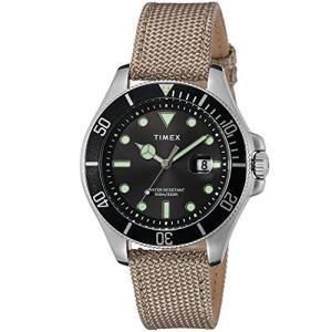[TIMEX] 腕時計 シティコレクション TW2U81800 メンズ ベージュ|nobuaki-shop