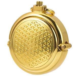 懐中時計 手巻き 機械式 メンズ 懐中時計 紳士 レトロ 蓋付き ゴールド ローマ数字|nobuaki-shop