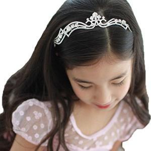 forpend 子供 ドレス ティアラ カチューシャ 子供衣装 ハート&クロスに輝くダイヤ カチューシャ ティアラ 髪飾り 結婚式 舞台 ドレス かわ nobuaki-shop