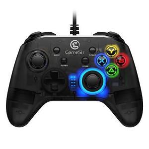 GameSir T4w ワイヤードコントローラー Win7/8/10 PC対応 Steam ゲーム対応 有線ゲームパッド 振動 ターボ機能付き nobuaki-shop