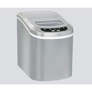 【高速製氷機【VS-ICE02】】製氷機 家庭用 製氷器 氷 (シルバー) nobuaki-shop