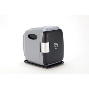 ツインバード DC24V専用コンパクト電子保冷保温ボックス グレー HR-D249GY nobuaki-shop