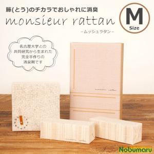 [104201]冷蔵庫の消臭 ムッシュラタン Mサイズ 3ピ...