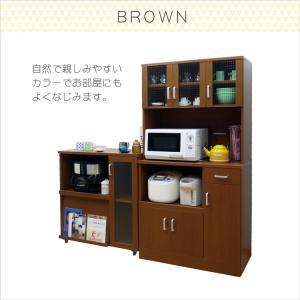 食器棚 レンジ台  キッチンボード 幅90cm 食器棚 (kc671) noconocok2000 14