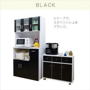 食器棚 レンジ台  キッチンボード 幅90cm 食器棚 (kc671) noconocok2000 17