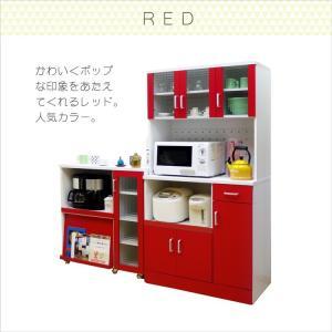 食器棚 レンジ台  キッチンボード 幅90cm 食器棚 (kc671) noconocok2000 18