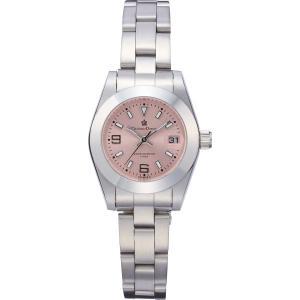 ドマーニ レディースカレンダー腕時計 ピンクCD6502−3N