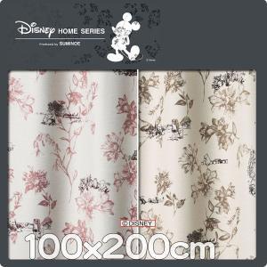 カーテン ディズニー プーさん 巾100cmx丈200cm 1枚 M1105 M1104|nodac