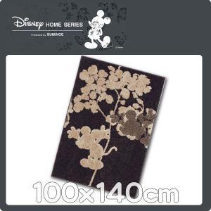 ラグマット カーペット マット ディズニー カーペット 100x140cm DRM−1017 ミッキー|nodac