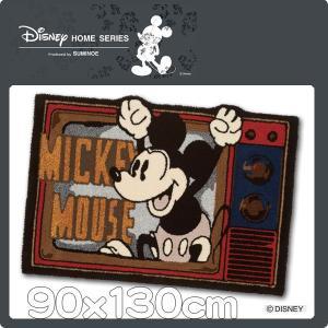 ディズニー ミッキー ラグマット 90x130cm 床暖可 DRM−4047 日本製|nodac
