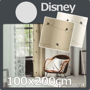 ■品名:カーテン ディズニー 100x200cm 1枚 遮光 disney ミッキー ライン  ■サ...
