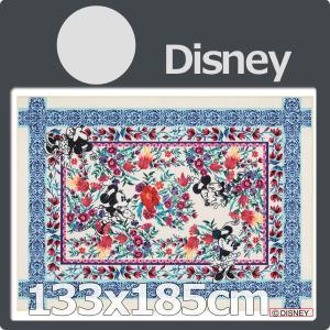 ディズニー ミッキー ラグマット カーペット おしゃれ 長方形  DRM−1060 133x185
