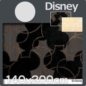 ラグマット カーペット マット ディズニー  ミッキーマウス 140x200cm disney パールラインラグマット カーペット マット|nodac