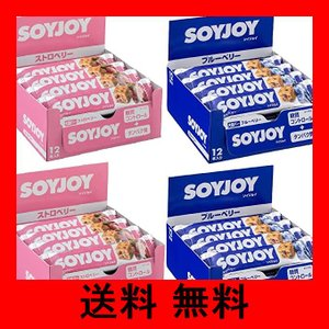 大塚製薬 ソイジョイ ダブルベリーセット (ブルーベリー/ストロベリー) 30g ×48個 noel-honpo