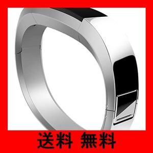 Fitbit フィットビット  Alta AltaHR 専用 純正 交換用リストバンド メタル ステンレス スチール ワンサイズ 【日本正規品】 F noel-honpo