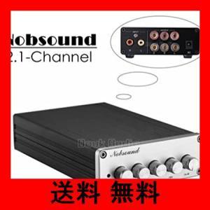 【新登場!】Nobsound HiFi 2.1チャンネル オーディオ パワーアンプ ステレオ アンプ 2×50W + 100W サブウーファー メー|noel-honpo