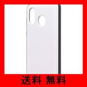 Galaxy A30 SCV43 耐衝撃ハイブリッドケース 「PALLET AIR」 ホワイト|noel-honpo