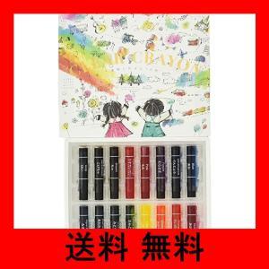 コクヨ 透明クレヨン 16色 KE-AC28|noel-honpo