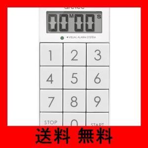dretec(ドリテック) デジタルタイマー スリムキューブ 消音切替 光 ホワイト T-520WT noel-honpo