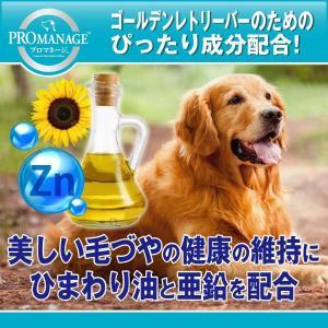 プロマネージ ドッグフード 成犬用 ゴールデンレトリーバー専用 4kg