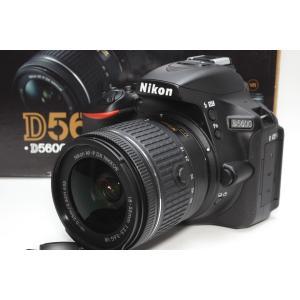 一眼レフ Nikon ニコン D5600 18-55 VR レンズキット 新品SDカード付き