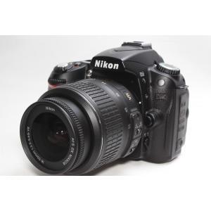 一眼レフ Nikon ニコン D90 AF-S DX 18-55G VR レンズキット 手ブレ補正