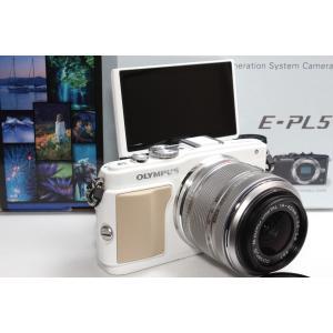 OLYMPUS PEN E-PL5 レンズキット ホワイト   ご覧頂きありがとうございます♪♪  ...
