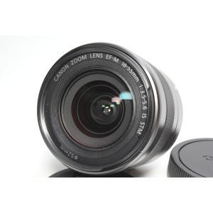標準レンズ Canon キヤノン EF-M18-55mm F3.5-5.6 IS STM レンズ ミ...