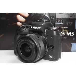 Canon キヤノン EOS M5 レンズキット   ご覧頂きありがとうございます♪♪   ★Wi-...