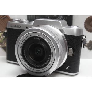 ミラーレス一眼 Panasonic パナソニック LUMIX GF7 標準レンズキット シルバー W...