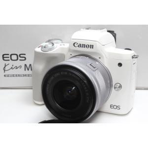 ミラーレス一眼 Canon キヤノン EOS Kiss M EF-M15-45 IS STM レンズ...